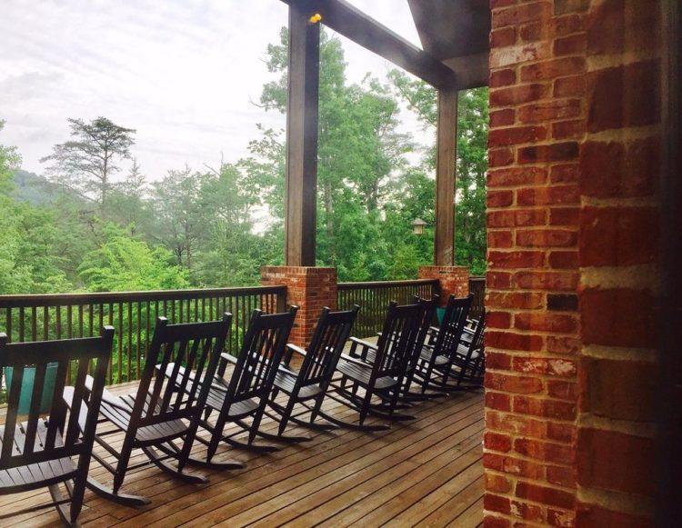 Country Lake Christian Retreat Porch